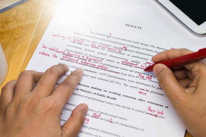 Term paper proofreading